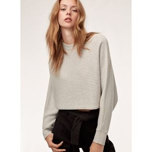 Wilfred Free Lolan Sweater Cropped sz Small